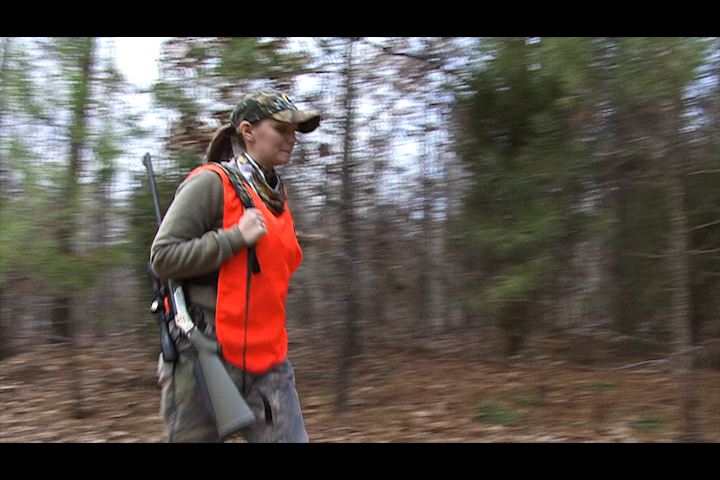 Ashley's big buck encounter